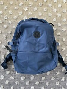 LULULEMON INK BLUE Lightweight New Crew Backpack - New Without Tags