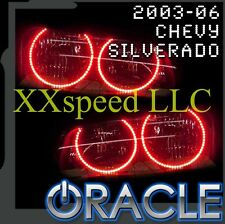 ORACLE Chevrolet Silverado 03-06 RED LED Headlight Halo Angel Demon Eyes Rings