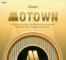 Various Artists: Classic Motown 3 x CD (Greatest Hits / The Very Best Of)