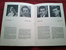 RARE 1965 CALOUSTE GULBENKIAN MEMORIAL CONCERT THEATRE PORTUGAL PROGRAM