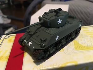 Matchbox Collectibles 1995, Dinky Sherman Tank M4A3 76mm OB