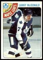 1978-79 Topps Lanny McDonald Toronto Maple Leafs #78