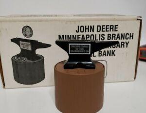 Ertl John Deere Minneapolis Branch 100th Anniversary Anvil Bank