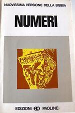 BERNARDO GIANLUIGI BOSCHI NUMERI EDIZIONI PAOLINE 1983