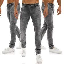 Jeans da uomo neri regolare