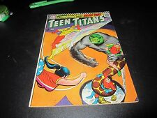 ORIGINAL SILVER AGE TEEN TITANS #6 CREASE ON CENTER DOWN THE COMIC BOOK SEE PICS