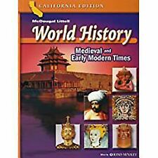 World History Medieval & Early Modern Times by Douglas Carnine (Read Condition)