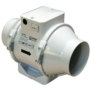 Rohrventilator Rohrlüfter Ventilator Duct Fan Lüfter Gebläse TURBO Motor dalap®