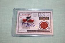 KENDALL HUNTER SF 49ERS  ROOKIE Recruits signed card