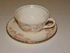 Pope Gosser Tea Cup & Saucer  Florence Rose Flower