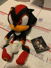 Great Eastern Shadow Sonic the Hedgehog Plush Sonic X With Tag