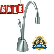 InSinkErator Hot Water Dispenser Faucet Brushed Chrome Indulge Contemporary