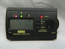 KORG CHROMATIC TUNER CA-30 Powers Up & On