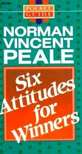 Six Attitudes for Winners by Norman Vincent Peale Paperback Pocket Guide