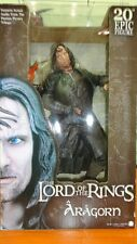 "NECA REEL TOYS THE LORD OF THE RINGS ARAGORN 20""INCH BIG FIGURE"