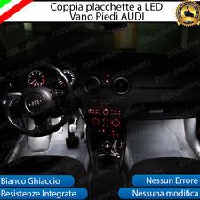 PLAFONIERE COMPLETE A LED AUDI A3 + SPORTBACK LUCI DI CORTESIA PEDALI PIEDI