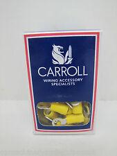 CARROLL RC5-5 5mm STUD YELLOW RING TERMINAL CRIMP LUGS 2500 PACK