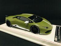 1:18 Davis & Giovanni Novitec Lamborghini Huracan Avio Matt Green NO BBR MR NEW