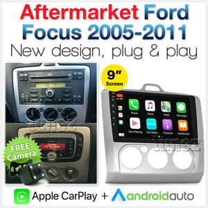 Apple CarPlay Android Auto For Ford Focus LS LT LV 2006-2011 Radio Stereo MP3 AT