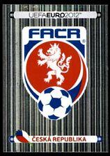 Panini Euro 2012 (Swiss Platinum Edition) Badge (Czech Republic) No. 137
