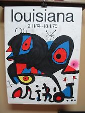 Rare Joan Miro Louisiana Posters Published by ARTE – PARIS