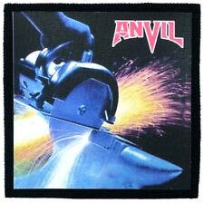 ANVIL metal on metal Toppa (patch) Iron Maiden,Judas Priest,Saxon,Def Leppard