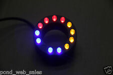 12 LED Color Ring Light underwater fountain/pond/water garden/Salwater Aquarium