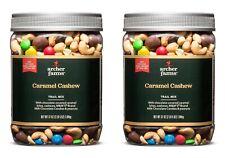 2 Pack Archer Farms Caramel Cashew Trail Mix - 37 oz Plastic Jars