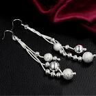 Women Earrings Fashion Jewelry 925 Silver Plated Earrings Ear Studs Earring