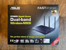ASUS RT-N66U Wireless 802.11n a g b Router 4Port Lan10 100 1000 BaseT