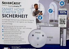 SILVERCREST® Sicherheit Smart Home-Starter Set Neu