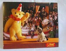 Steiff - Steiff Teddy Clown and Bully Dog Postcard