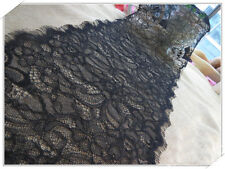 3M Eyelash Lace Edge Trim Floral Wedding Bridal Ribbon Dress Sewing DIY Craft
