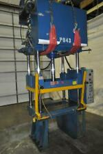 35 Ton Hydraulic Power 4 Post Press Model 54 210 Stroke 18 Daylight 35