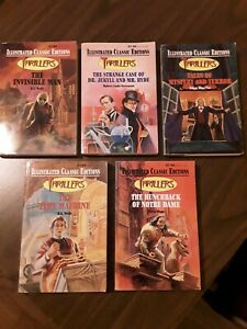 Lot 5 Great Illustrated Classics Thrillers HALLOWEEN Dr Jekyll and Mr Hyde - PB