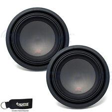 "New listing Two Alpine R-W10D4 R Series 10"" Dual 4 Ohm Subs bundle"