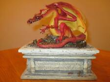 New ListingDanbury Mint Smaug's Treasure Box Statue The Hobbit Smaug Lord of the Rings