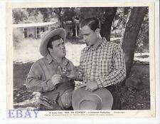 Lou Costello Bud Abbott Ride 'Em Cowboy VINTAGE Photo
