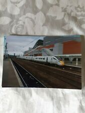 6x4 Photo of white Class 800 at Doncaster Railway Station