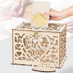 Hochzeit Geschenkkartenbox Glückwunschkartenbox Briefbox Kartenbox Geldbox DHL
