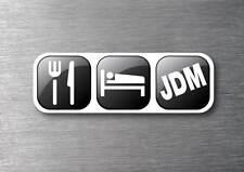 Eat sleep  JDM quality 7 year vinyl  car jdm drift v8  shift