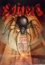 Editors Fillmore Poster Biffy Clyro Ra Ra Riot F890 Original Graham Wiedeman