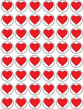 48 x LOVE HEART EDIBLE FAIRY CUP CAKE TOPPERS VALENTINES FREE DELIVERY INCLUDED!