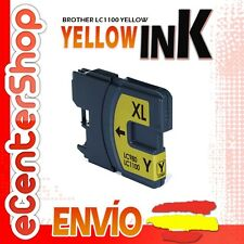 Cartucho Tinta Amarilla LC1100 NON-OEM Brother DCP-385C / DCP385C