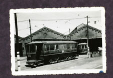 Vintage B&W Railroad Photo - Street Car #86 @ Canarsie Depot New York City