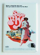 Super Fly FRIDGE MAGNET (2.5 x 3.5 inches) movie poster blaxploitation superfly