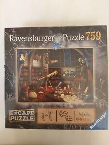 Ravensburger 759 piece Escape Puzzle & Escape Game Combo New Sealed