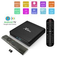 X96 Air 32GB S905X3 Android 9.0 8K UHD Bluetooth Dual WiFi Voice Control TV Box