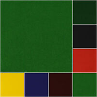 Solid Plain Felt Craft Fabric By the Metre 145cm Wide | 9 Colours
