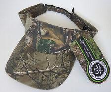 TEAM REALTREE hunting shooting visor hat NEW realtree xtra camo cap
